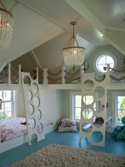 A Kids Custom Bunk Bed Design That I LOVE
