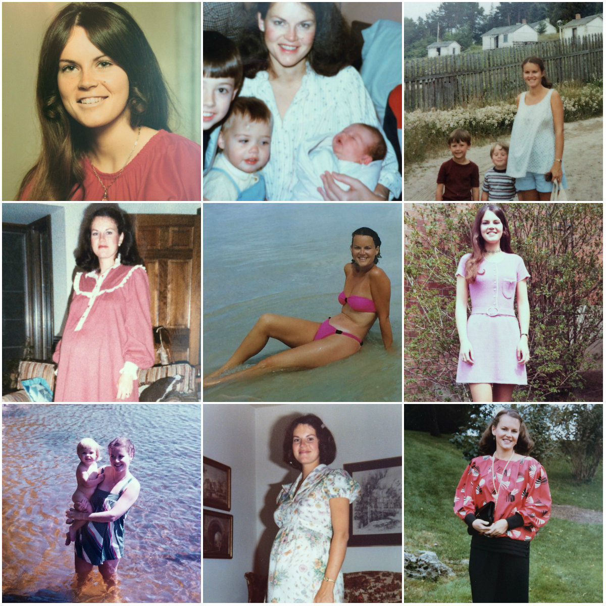 My Mother Collage