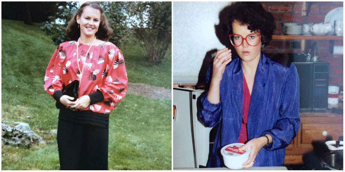 My Mother the 90s Fashion Victim