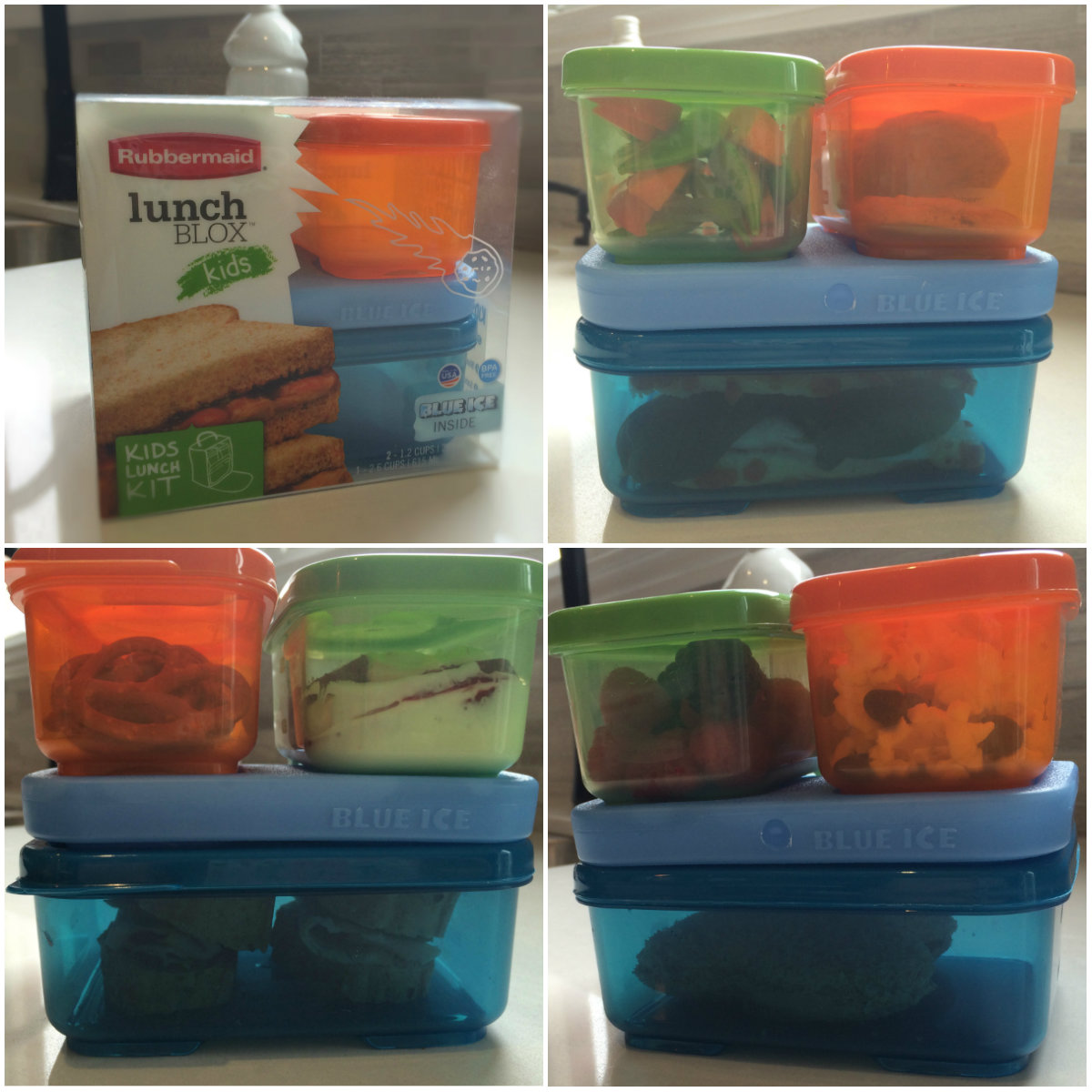 Rubbermaid Lunchblox collage