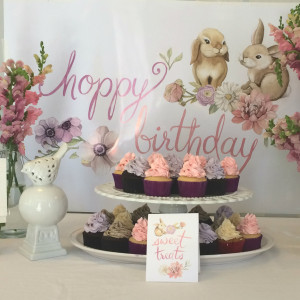 Bunny Birthday Party Decor