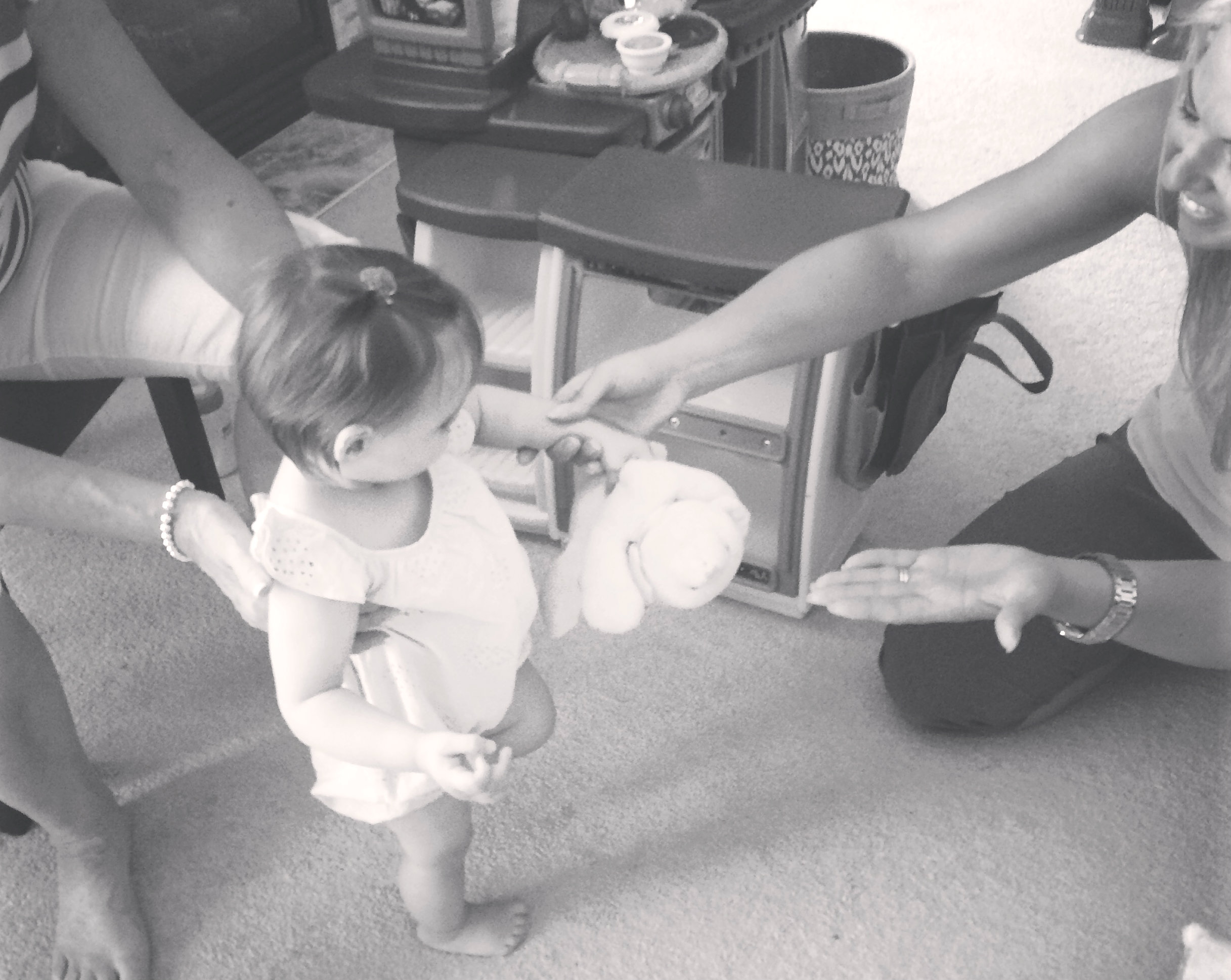 Everly's First Steps