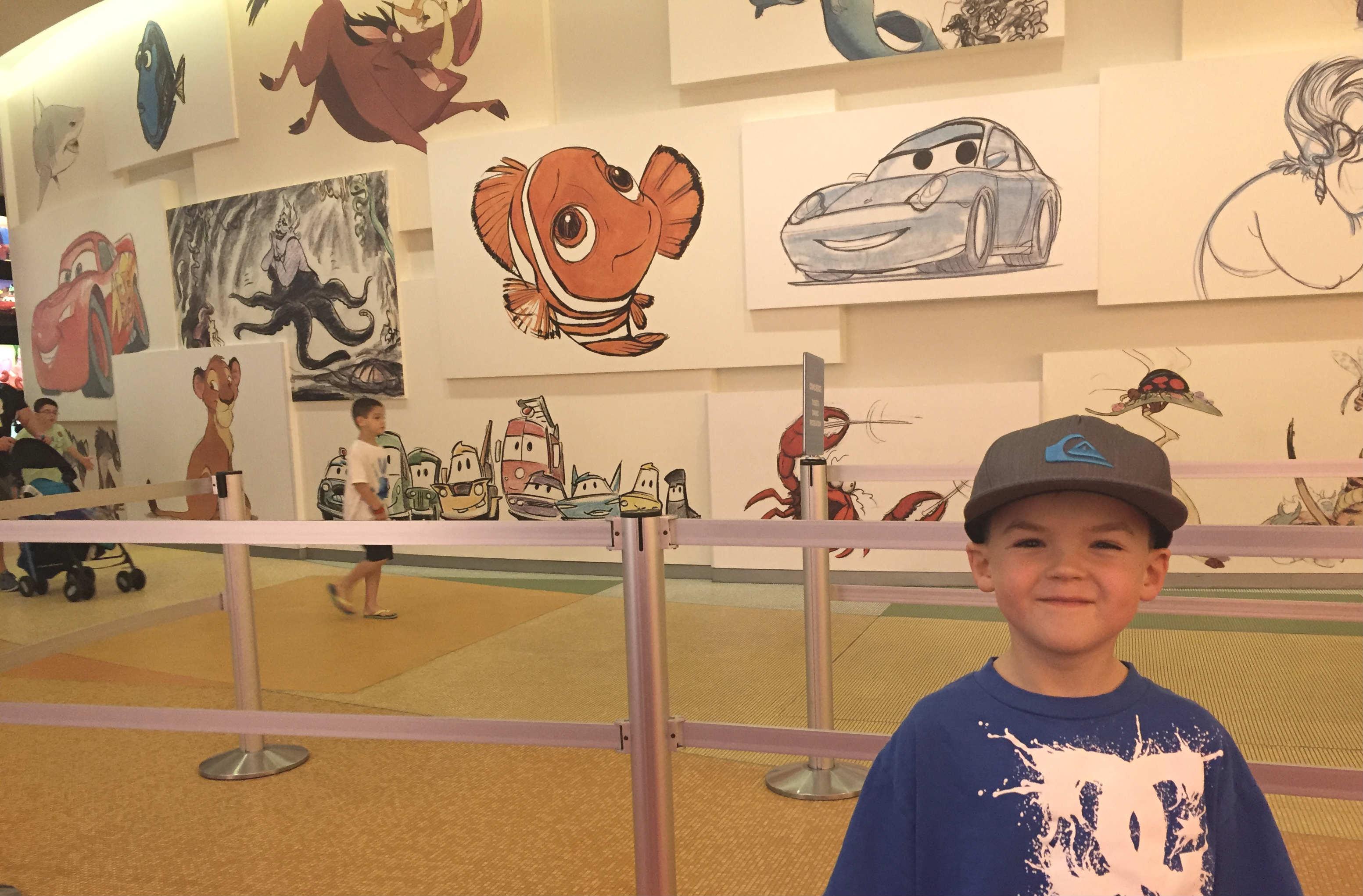 Disney's Art Of Animation Lobby