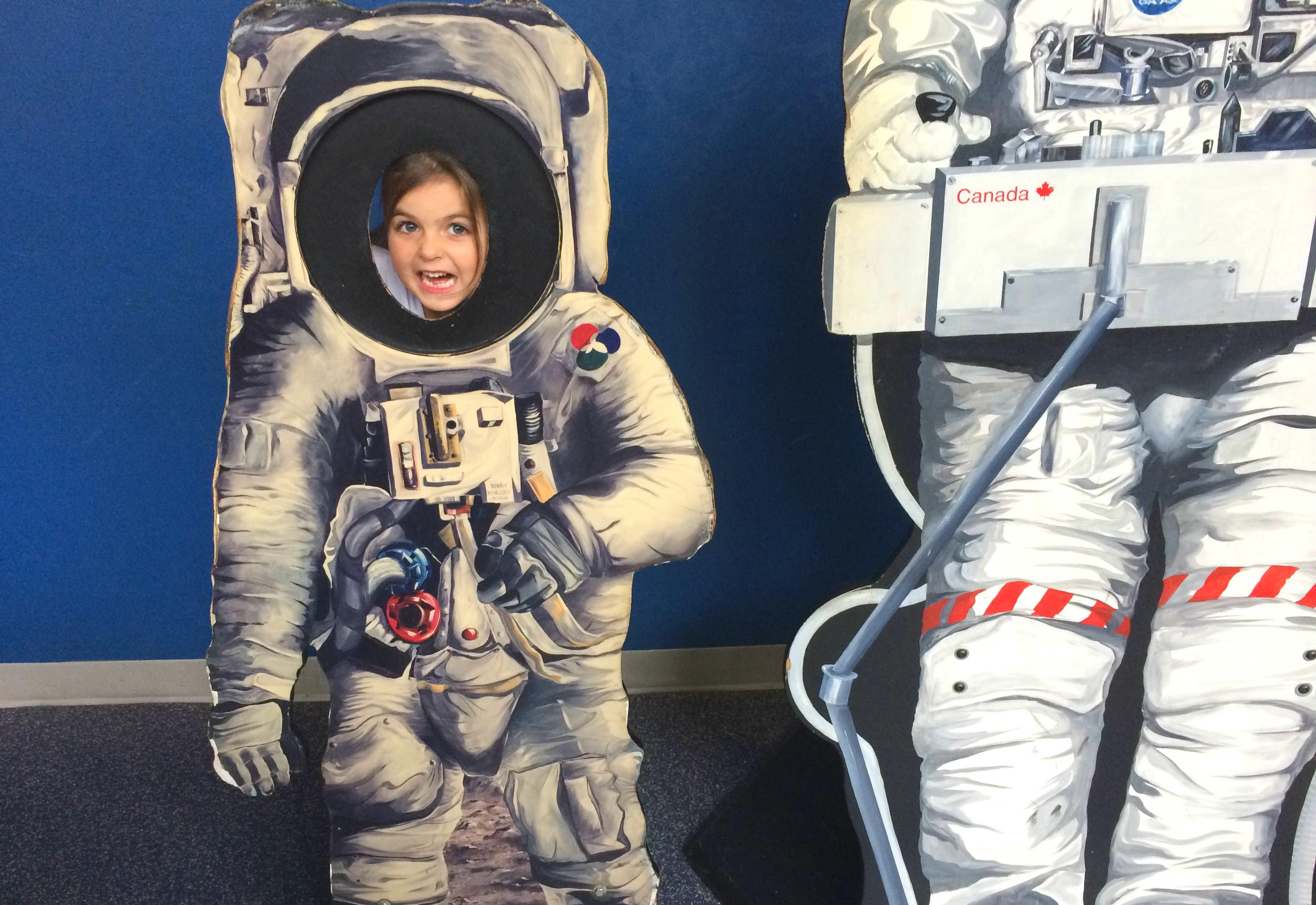 Beau the astronaut