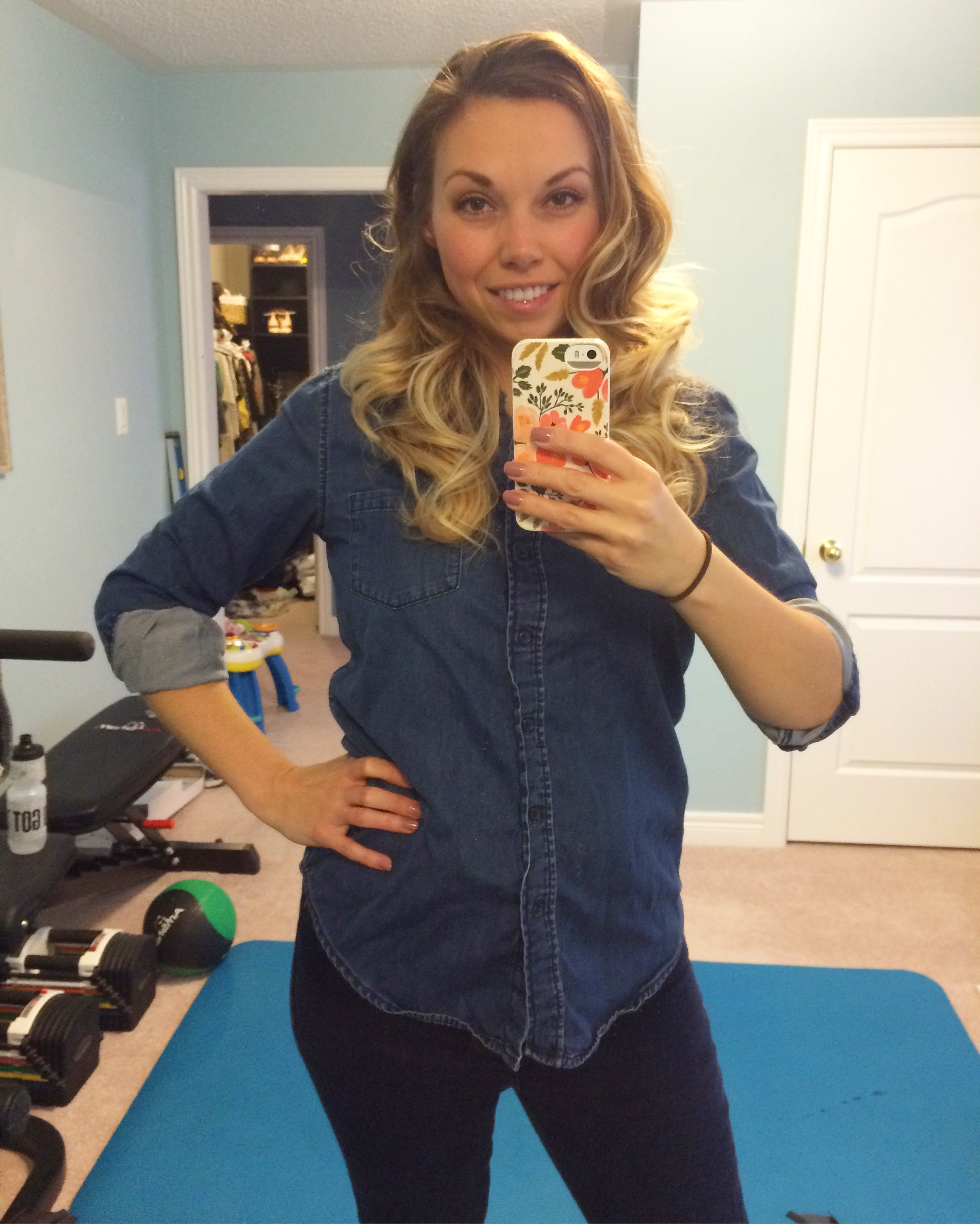Weight loss after four kids Nesting Story