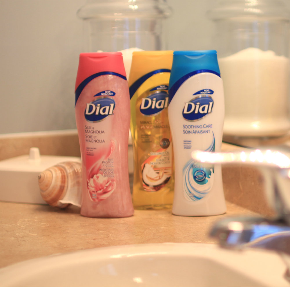 Dial body washes