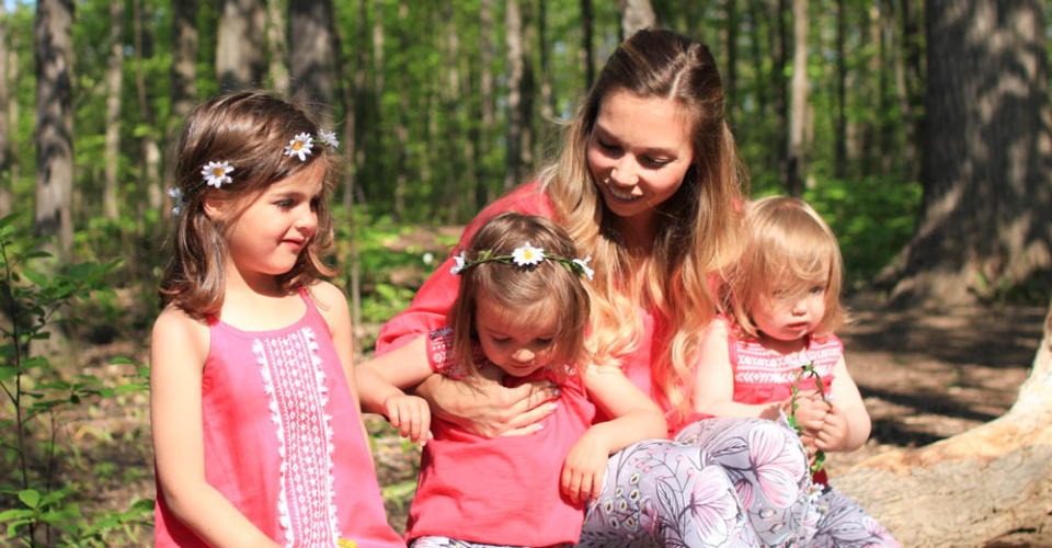 How To Style Patterned Leggings For You And Your Kids (Four Looks)