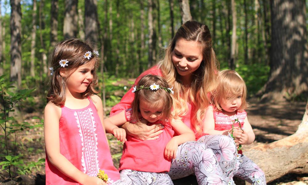 How to wear patterned leggings, Nesting Story wearing Sweetlegs Adelaide