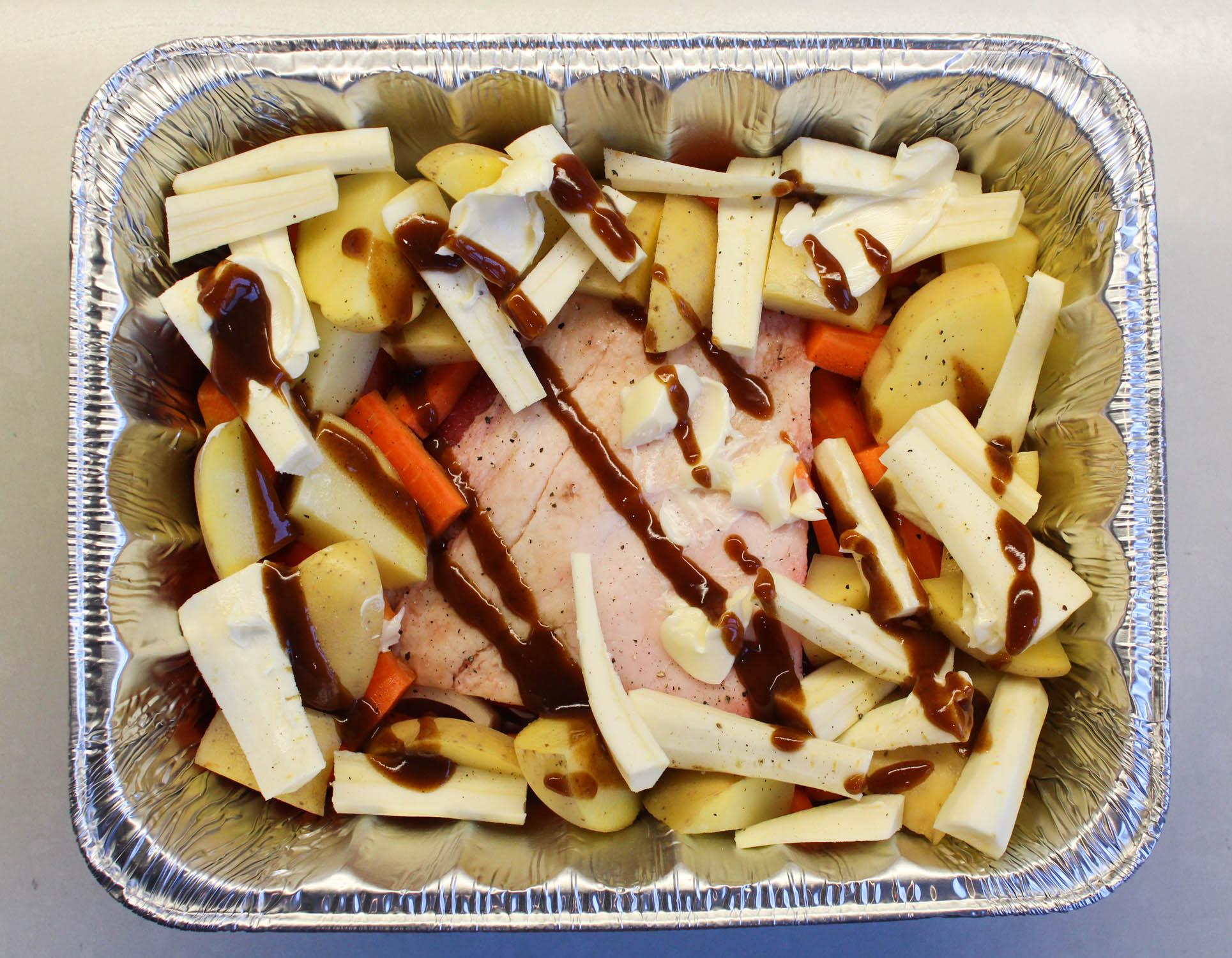 uncooked roast