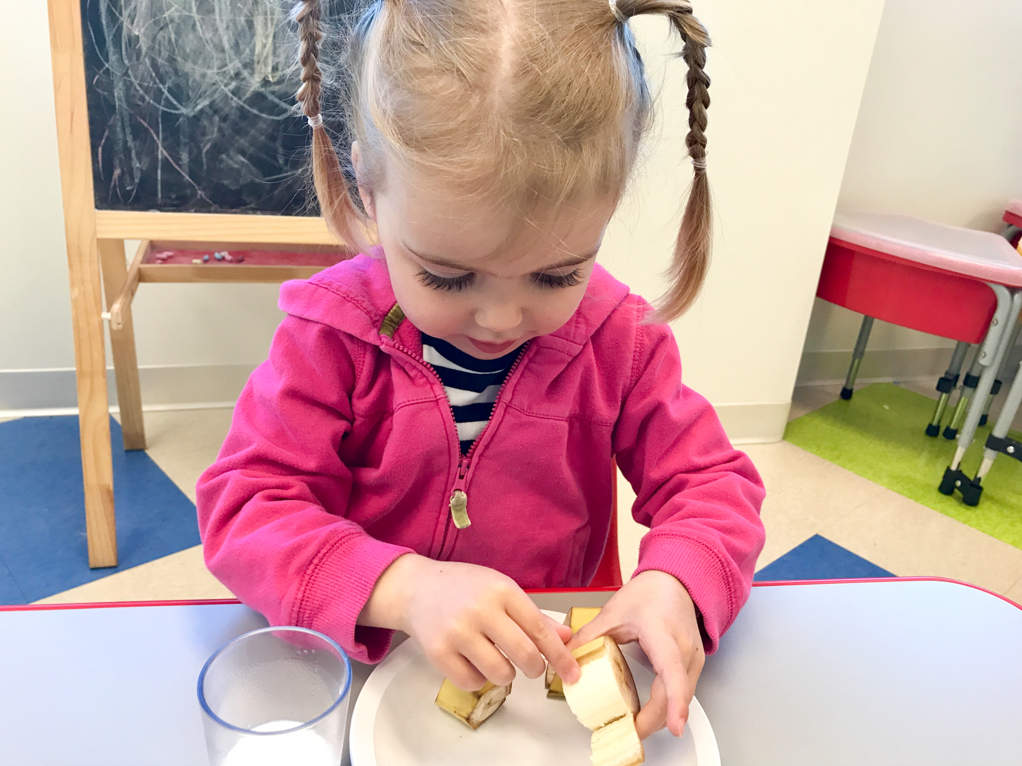 eating at daycare