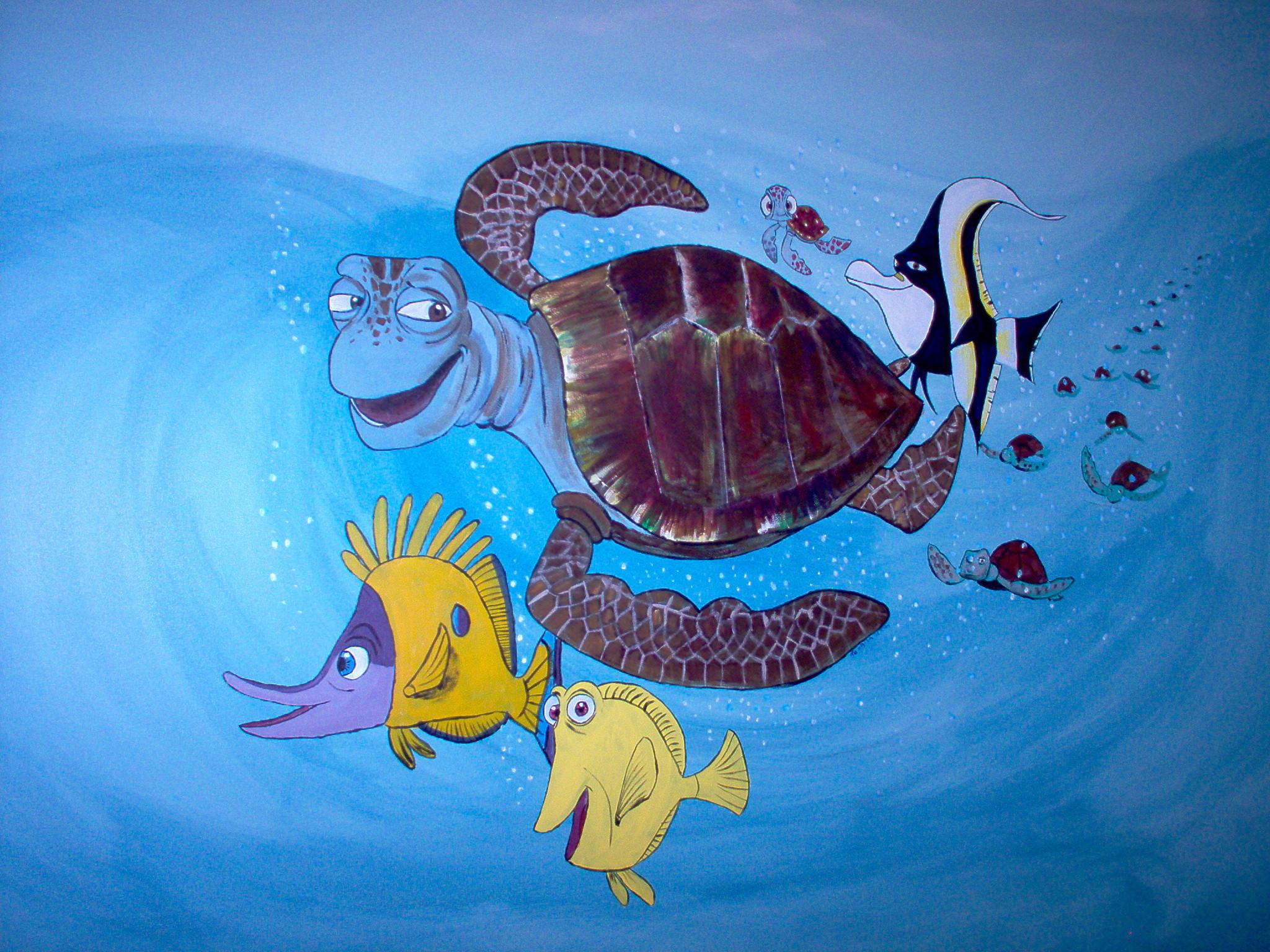 Nemo Mural 4