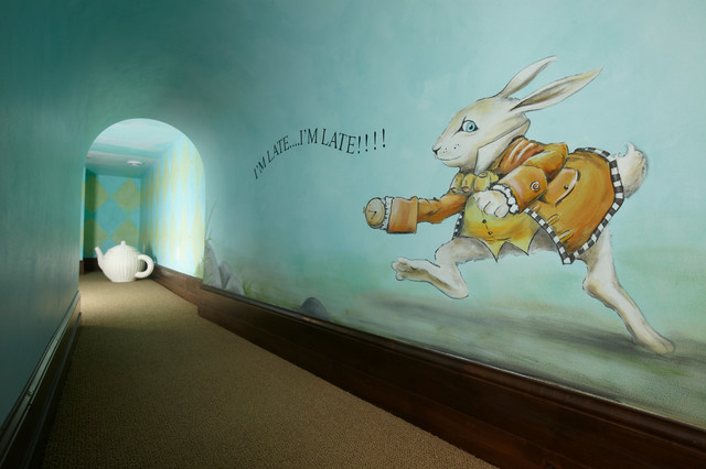 14 Hand Painted Murals that Create a Wow Factor in Children's Rooms and Playrooms