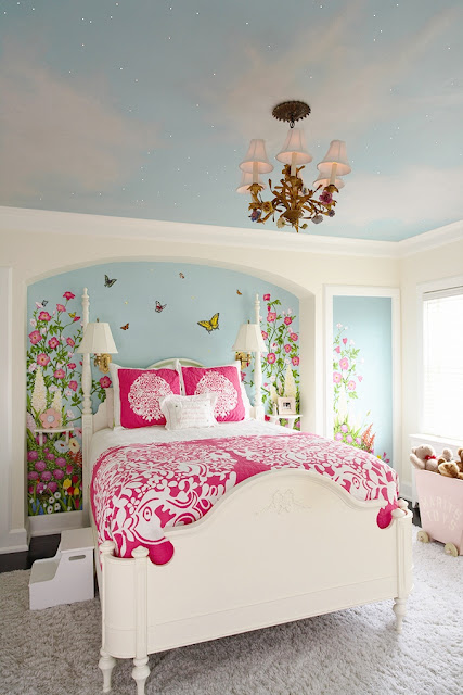 wall_mural_ideas_for_girls_bedromm