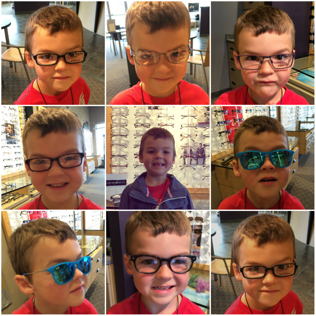 Holden Glasses Collage