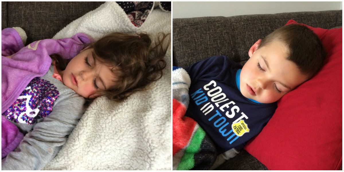 Kids Sleeping With Fever