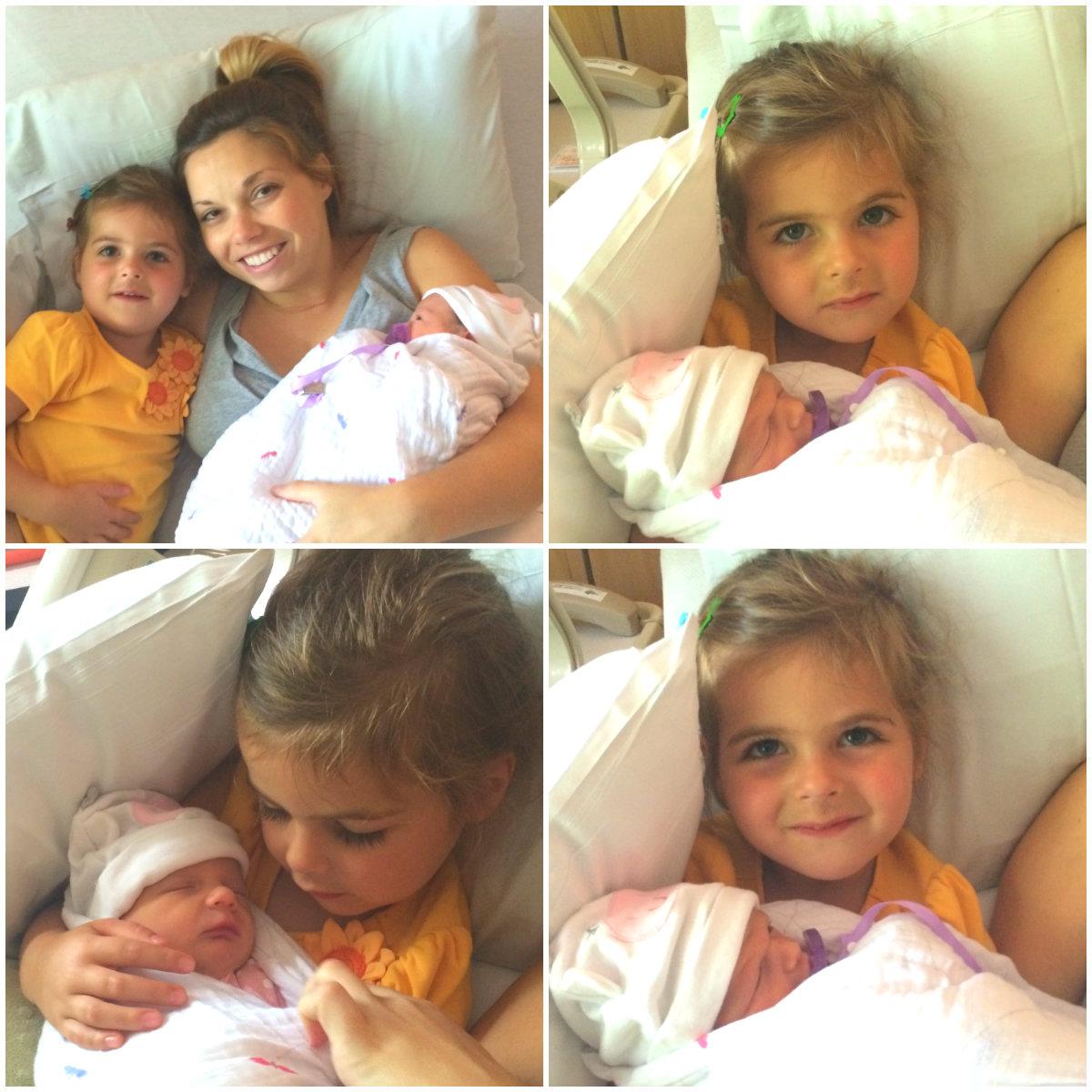 Beau visiting her sisters