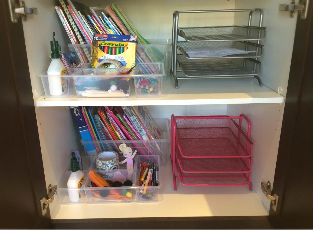 Organized Cupboards