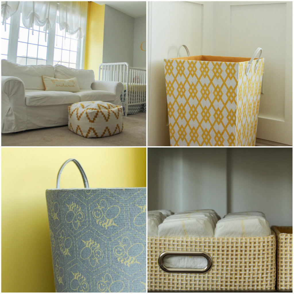 Twin's nursery - storage