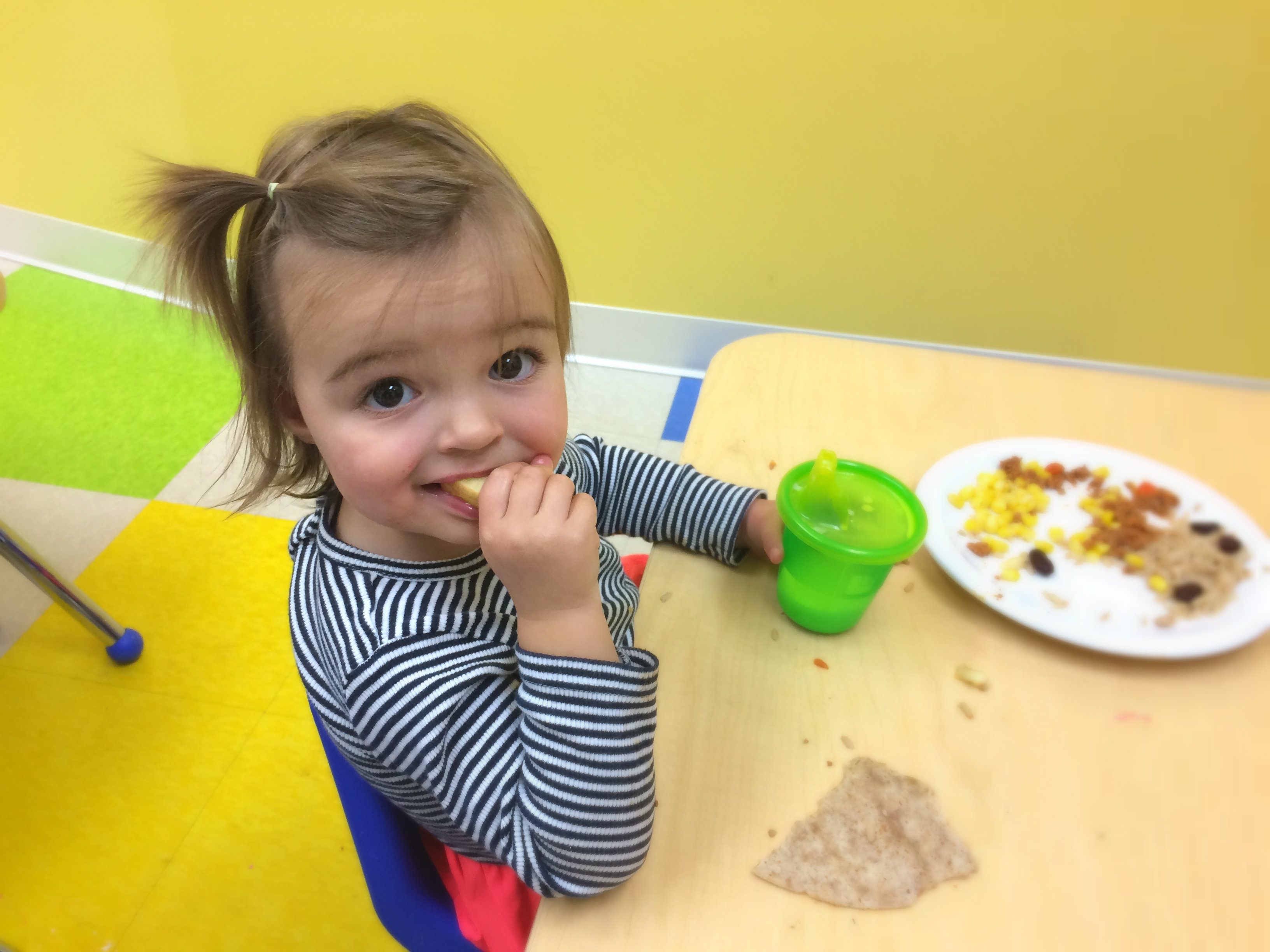 Everly at daycare