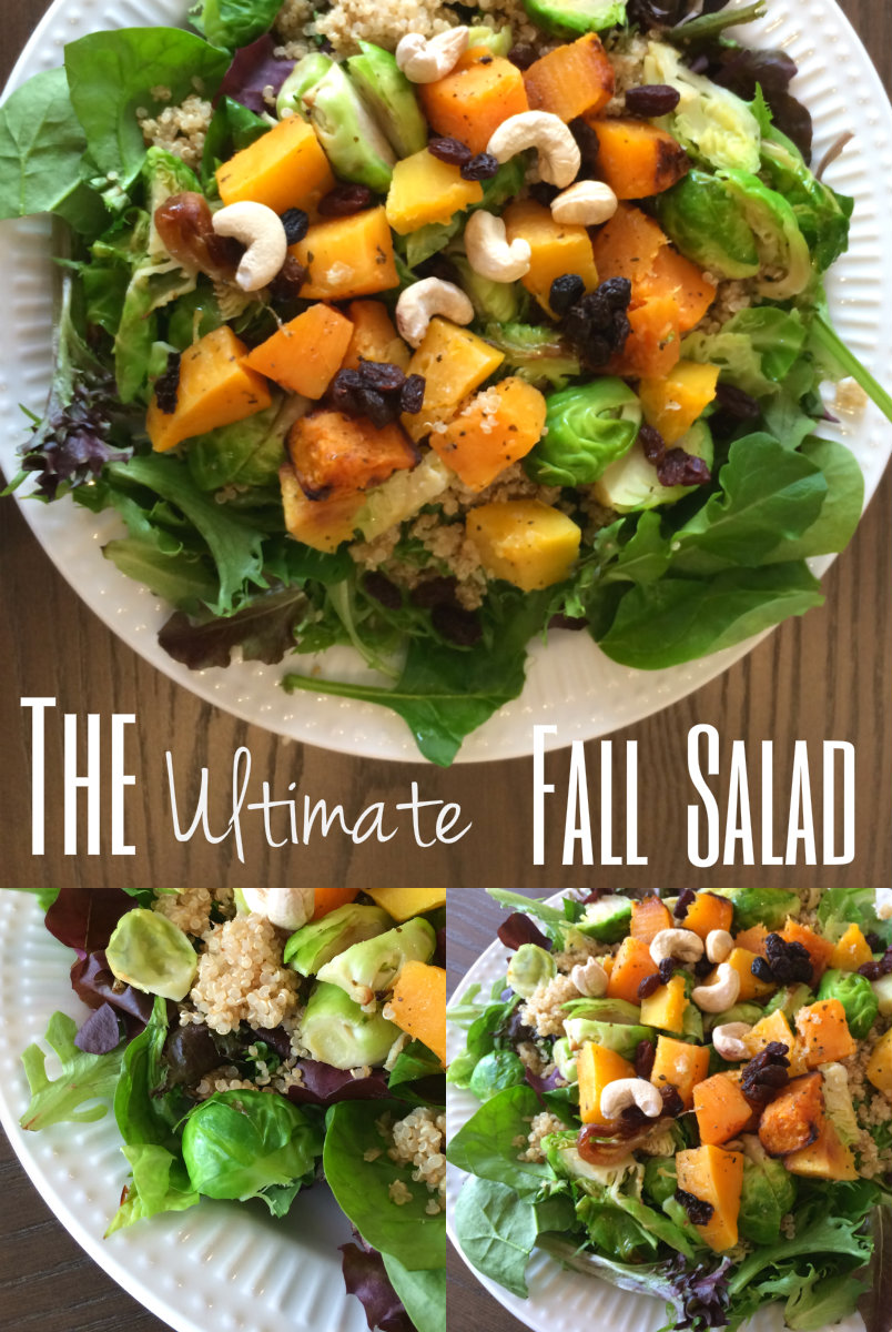 The ultimate fall salad recipe - nesting story