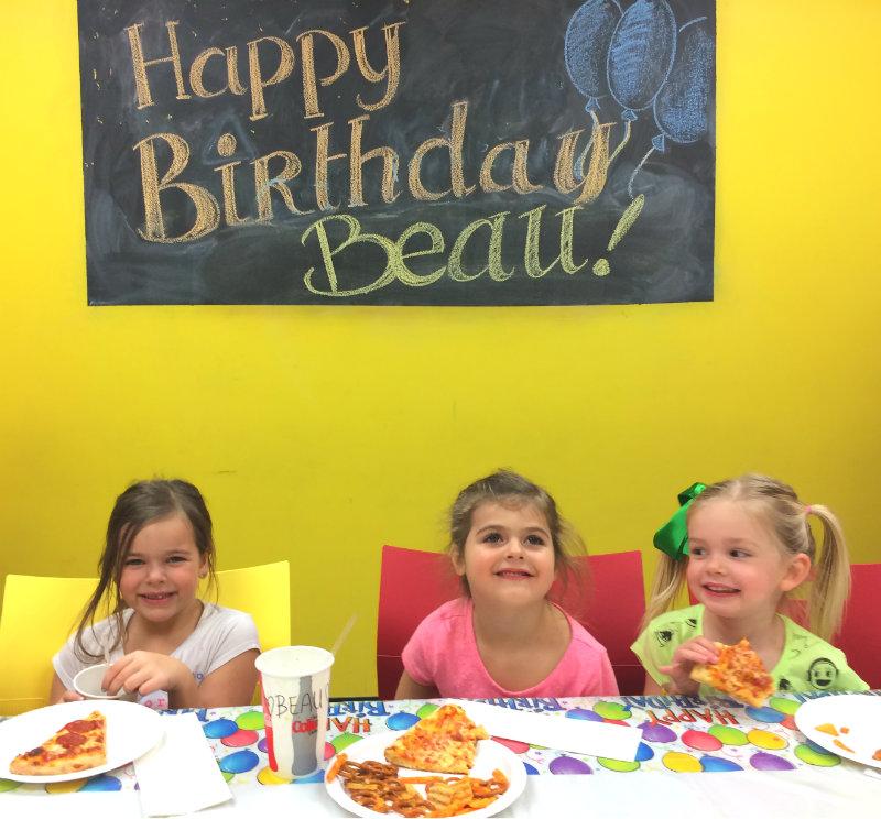 Beau's birthday party