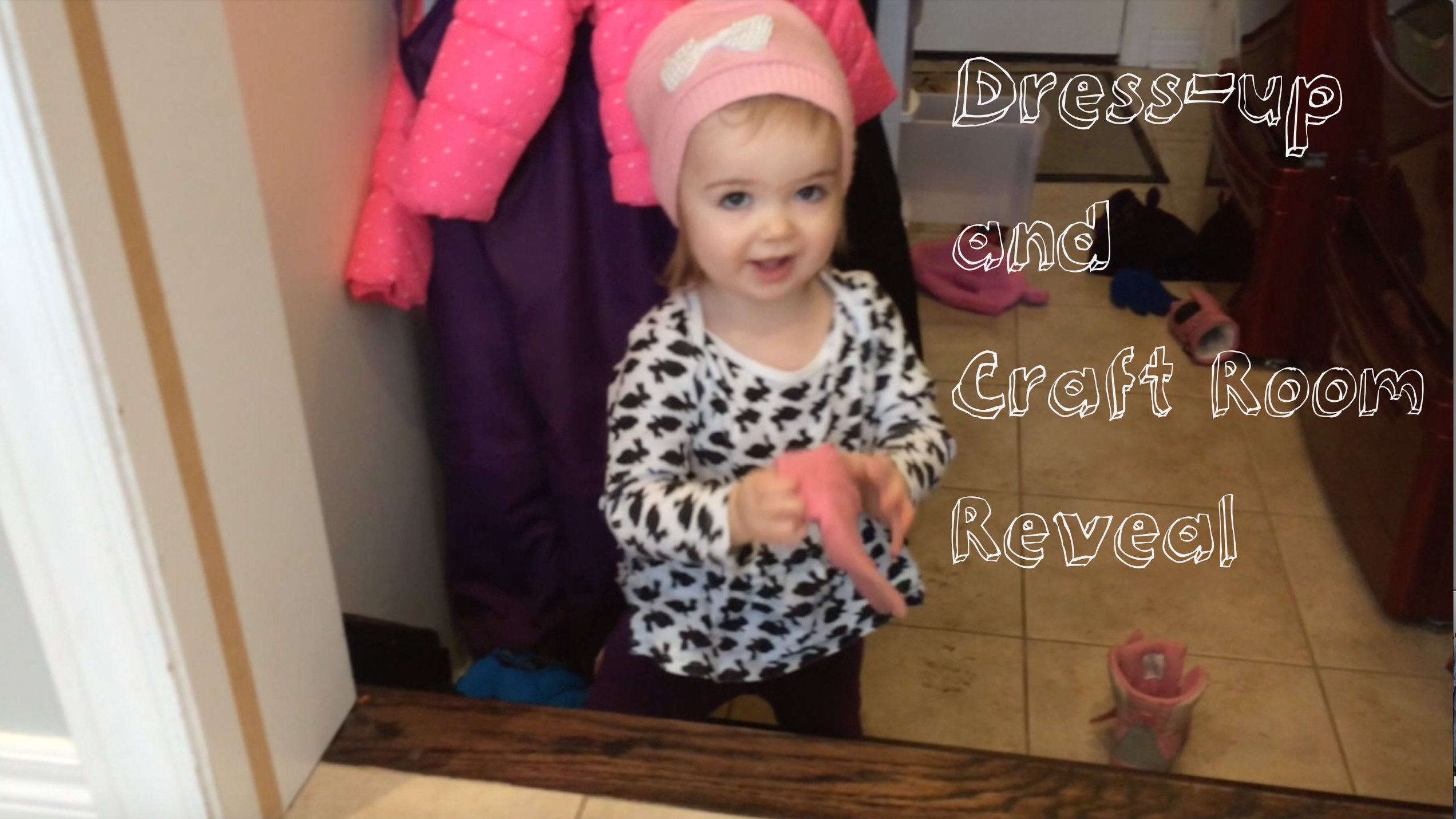 Dress up and craft room reveal