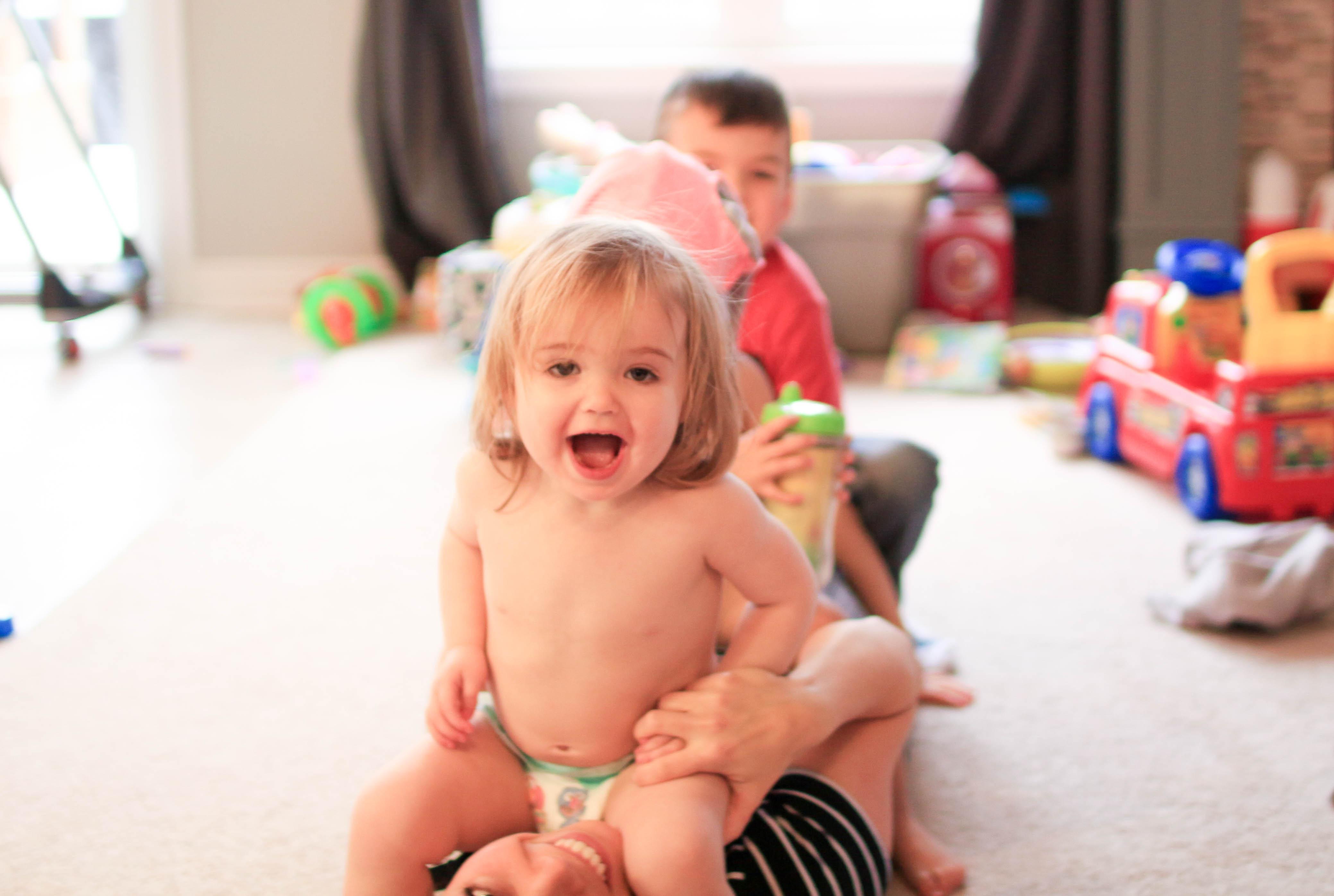 Four kids - Nesting Story
