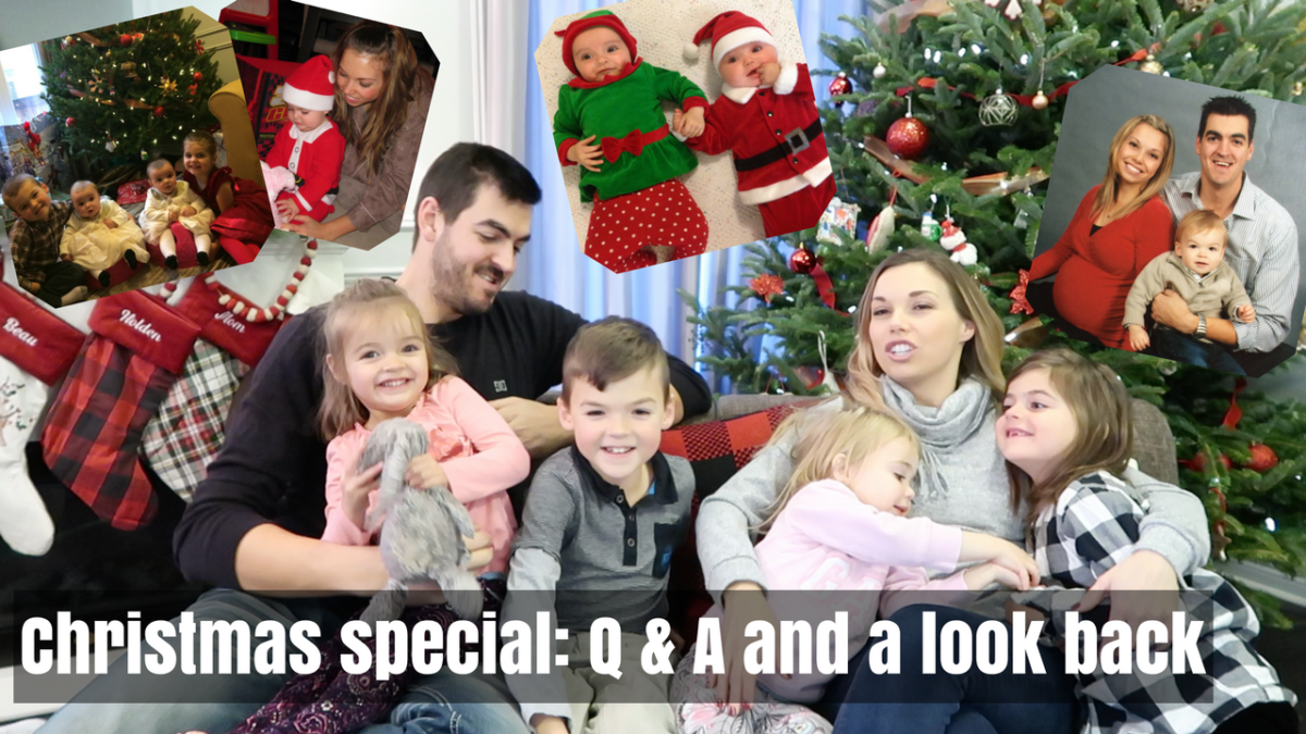 Happy Holidays From Our Family To Yours – A Flashback And Q & A