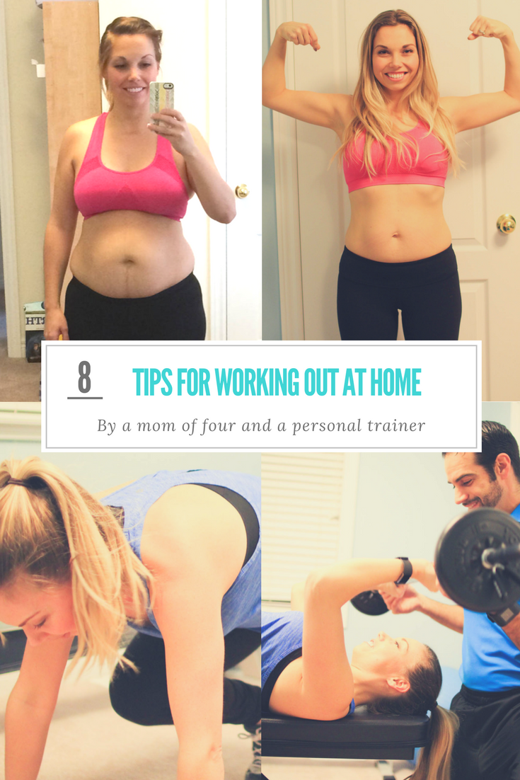 8 tips for working out at home