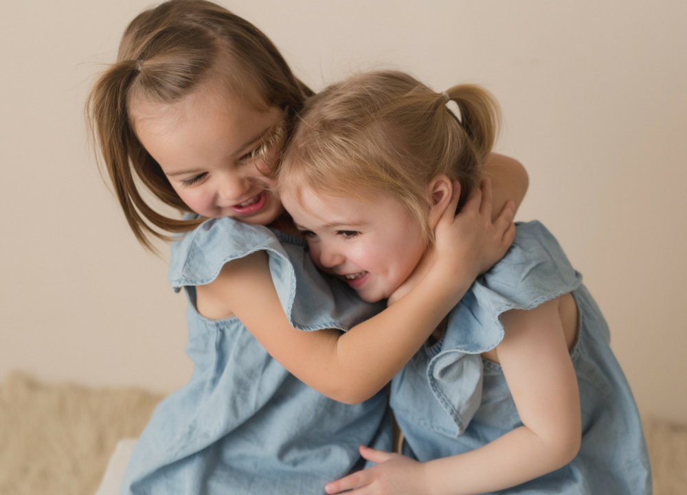 Twin toddler aggression and regression