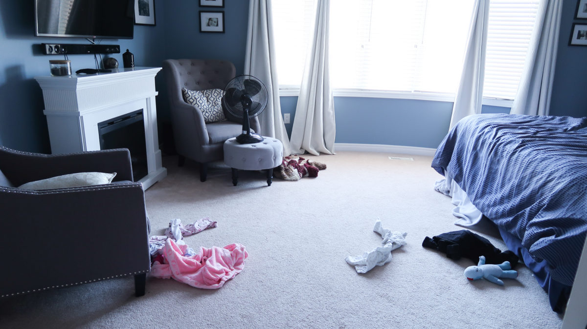 I love my kids more than I love a clean house