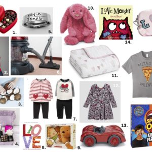 Valentine's Day gift guide for the whole family by Nesting Story