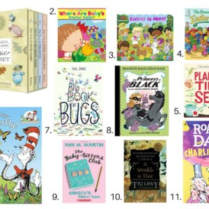 Easter Gift Guide book suggestions by Nesting Story