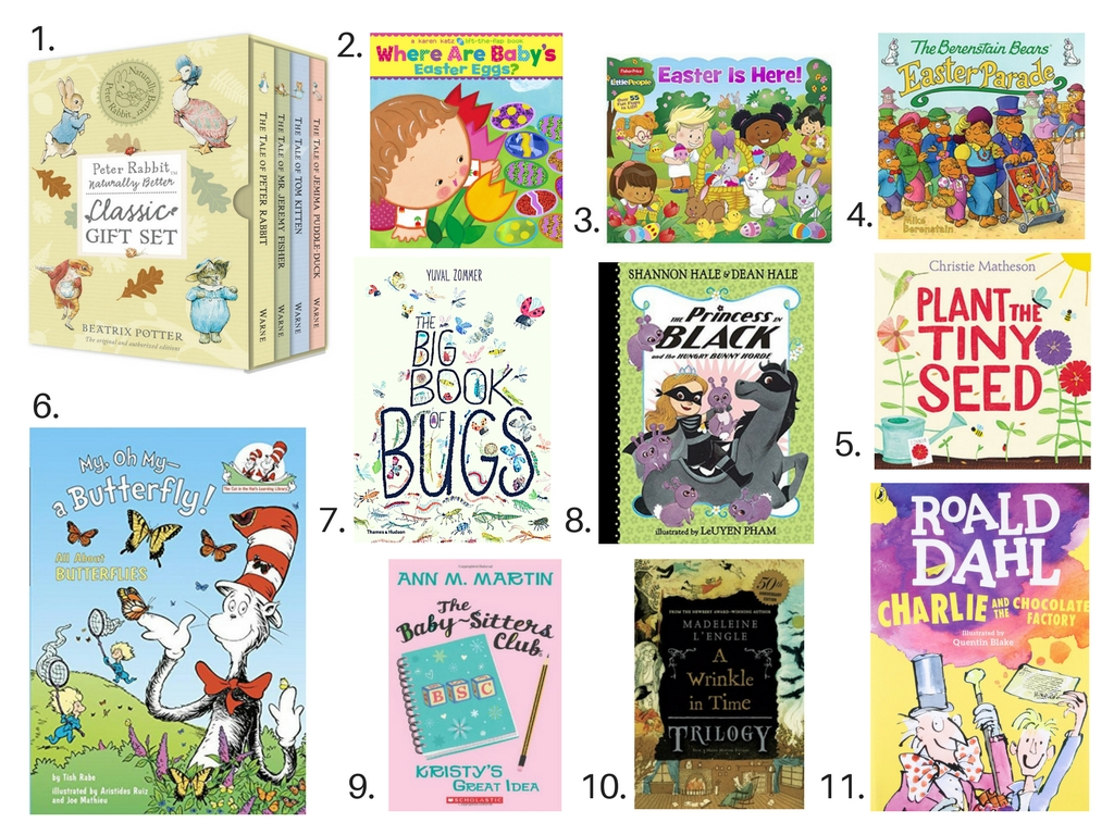 Easter Gift Guide – Books for all ages