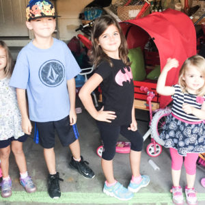 Getting four kids ready and out the door safely every morning by Nesting Story