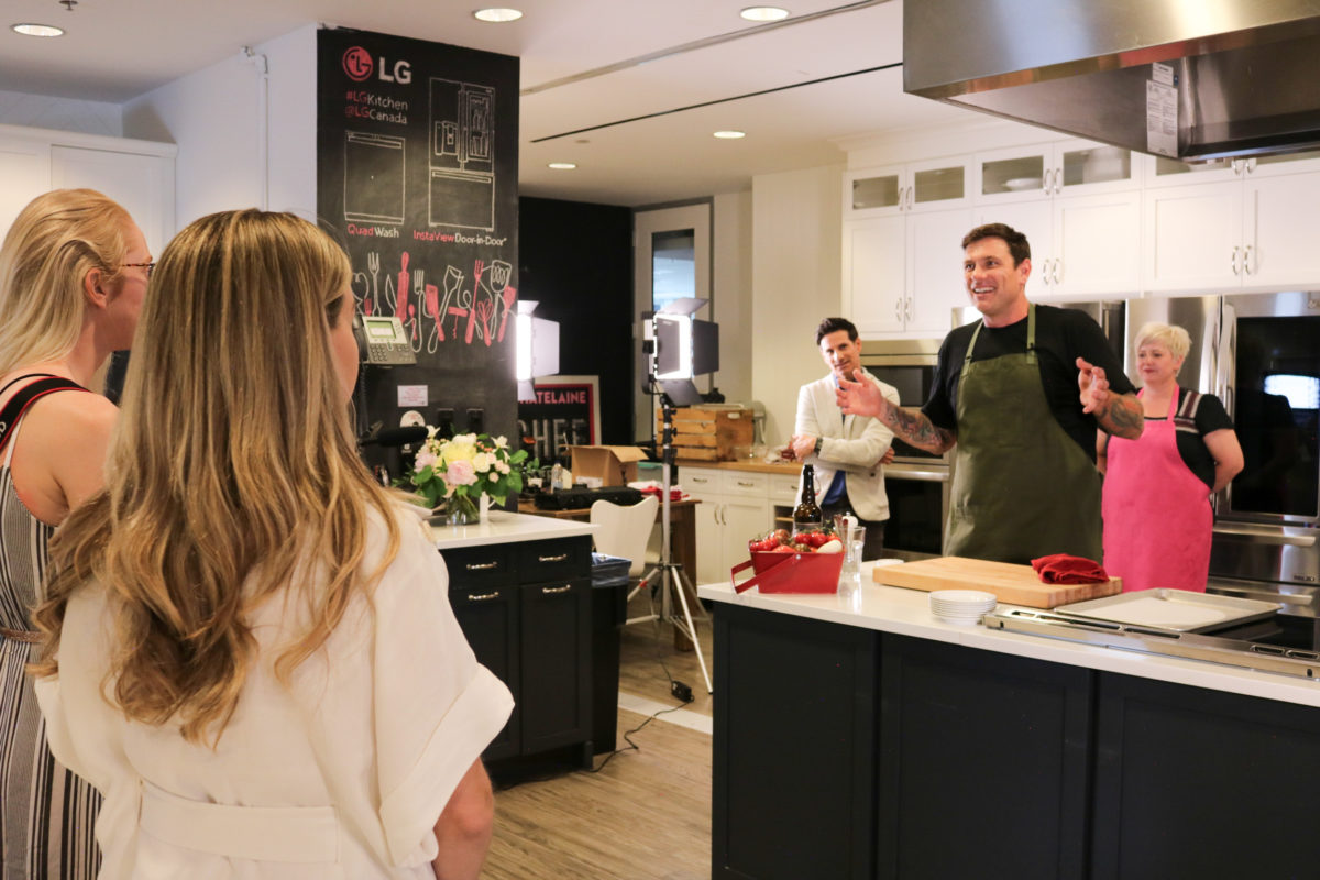 That time Chef Chuck Hughes taught me how to cook