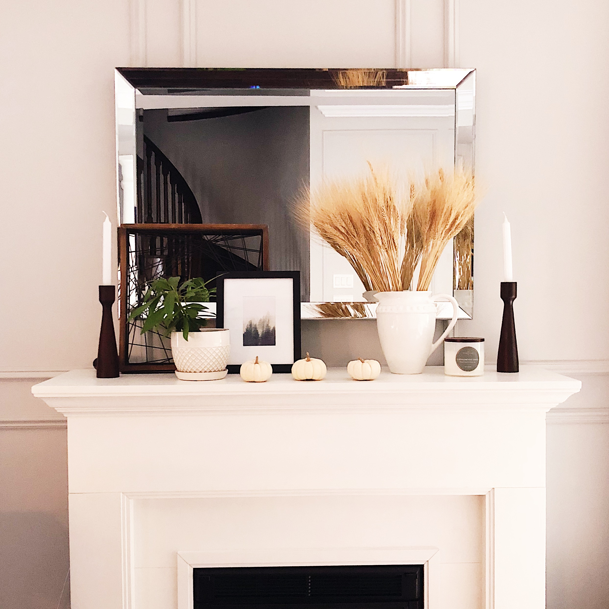 modern fall mantle