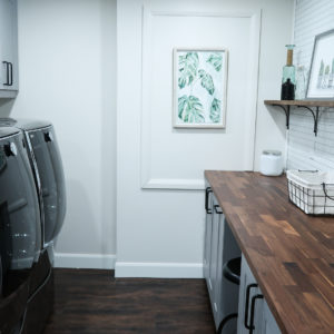 Nesting Story Laundry Room