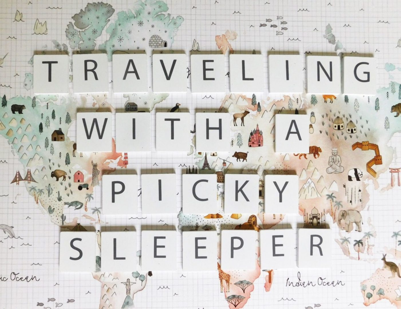 Traveling with a picky sleeper - Erica Parachini for Nesting Story