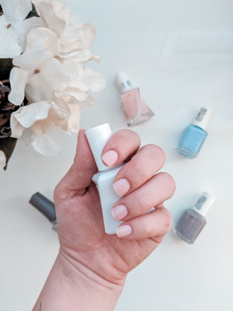 A little nail polish is an easy way for a busy mom to feel more put-together.