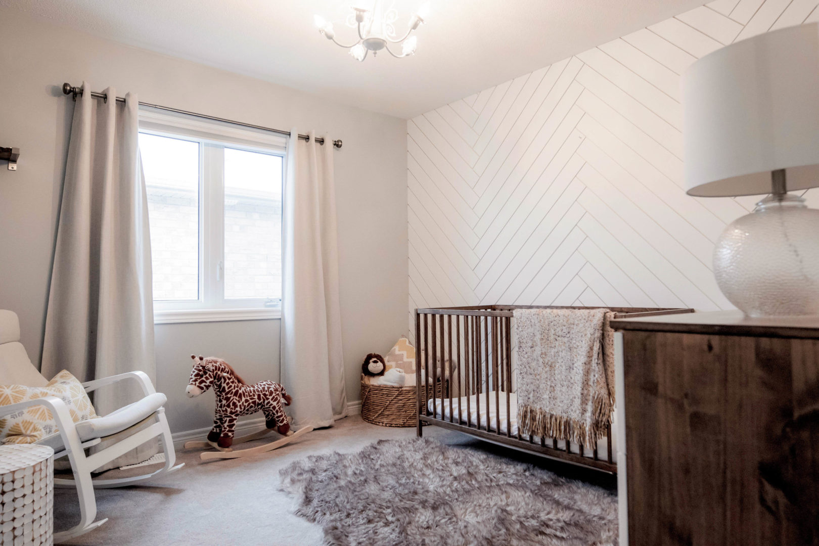 neutral nursery for baby girl